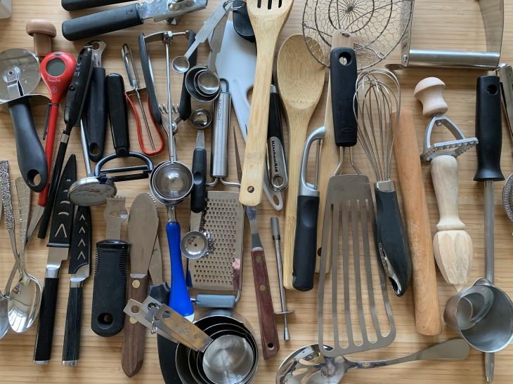 utensil before